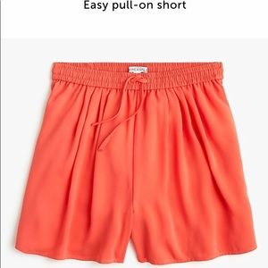 J Crew Easy Pull-on shorts